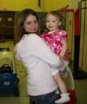 My niece Cheyenne and Aurora